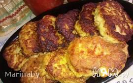 Кнедли картофельно-мясные