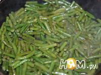 Приготовление стручковой фасоли в соевом соусе: шаг 1