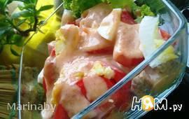 Салат с запеченной говядиной