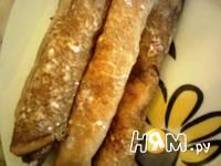Приготовление блинов со сетано-творожной начинкой: шаг 9