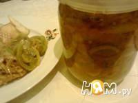 Приготовление салата из зеленых помидоров со специями: шаг 7