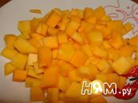 Приготовление тыквы маринованной: шаг 1