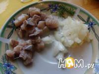 Приготовление закуски фуршетной из свеклы и сельди: шаг 2