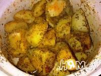 Приготовление картофеля запеченного в духовке: шаг 6