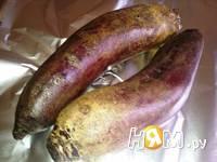 Приготовление салата Капризе с печеной свеклой: шаг 1
