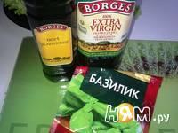 Приготовление салата Капризе с печеной свеклой: шаг 3