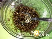 Приготовление салата Капризе с печеной свеклой: шаг 4