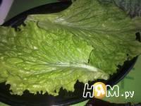 Приготовление салата Капризе с печеной свеклой: шаг 8