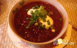 Свекольный крем-суп