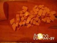Приготовление пасты с беконом и горошком: шаг 3