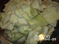 Приготовление маринованной капусты на зиму: шаг 2