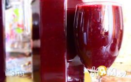 Кисель ягодный (черная смородина)