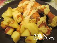 Приготовление стейка  форели: шаг 6