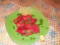 Приготовление куриного филе свекольно-цитрусовом соусе: шаг 9