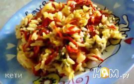Перец болгарский с рисом