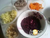 Приготовление селедки под шубой в желе: шаг 10