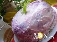 Приготовление селедки под шубой в желе: шаг 22