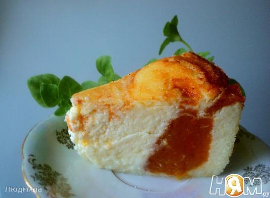 Рецепт Сырник с хурмой