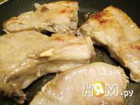 Приготовление свиной корейки под ананасами с сыром: шаг 4