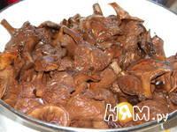 Приготовление маринованных грибов: шаг 2