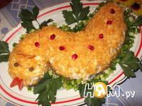 Приготовление салата с куриной грудкой и шампиньонами: шаг 7