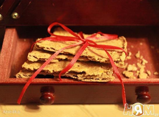 Нутовое печенье