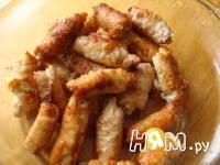 Приготовление рулетиков из свинины с грибами: шаг 7