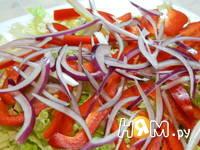 Приготовление салата Фейерверк: шаг 6