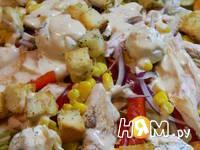 Приготовление салата Фейерверк: шаг 10