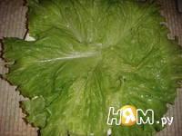 Приготовление салата с копченой курицей и кукурузой: шаг 7