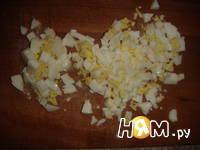 Приготовление зеленого салата с беконом: шаг 7