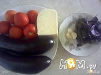Приготовление баклажан запеченных с сыром и помидорами: шаг 1
