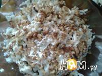 Приготовление салата Нежность с черносливом: шаг 4