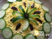 Приготовление салата Нежность с черносливом: шаг 7