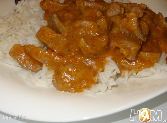 Рецепт Говядина острая по-Тайски