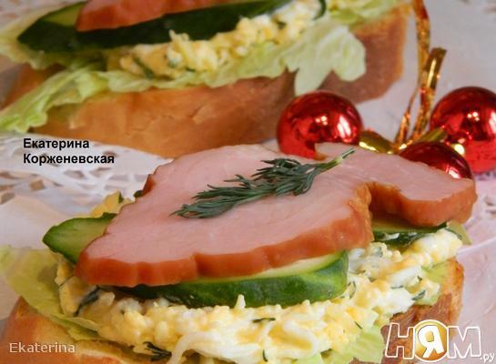 Фуршетные бутерброды