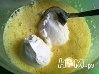 Приготовление десерта творожного: шаг 4