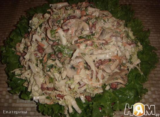 """Салат """"Овощная полянка"""""""