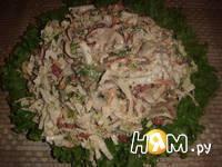 Приготовление салата из пекинской капусты и фасоли: шаг 11