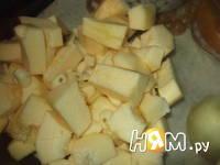 Приготовление супа с запеченным кабачком и бекон: шаг 1