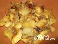 Приготовление супа с запеченным кабачком и бекон: шаг 8
