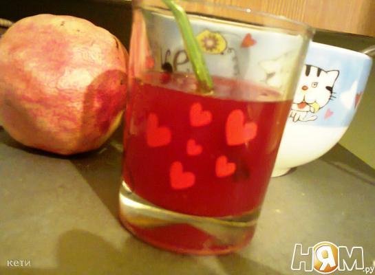 Гранатовый сок с медом