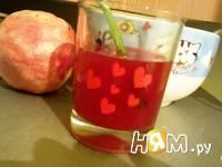 Приготовление гранатового сока с медом: шаг 6