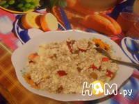 Приготовление овсяной каши с фруктами и медом: шаг 2
