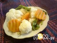 Приготовление соления из цветной капусты: шаг 7