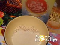 Приготовление манно-овсянных блинчиков без муки: шаг 1