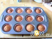 Приготовление ванильных капкейков: шаг 4