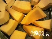 Приготовление тыквы вареной на пару: шаг 2