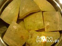 Приготовление тыквы вареной на пару: шаг 3