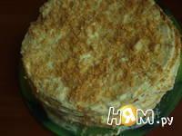 Приготовление торта Наполеон: шаг 15